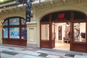 Pop-up store New Balance